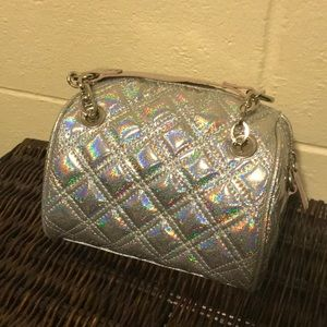 Claire's Bags - NWT Claire's holographic small purse in silver